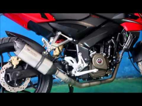 Muffler Sound R9 Valencia Titanium Series Kawasaki Bajaj Pulsar 200NS