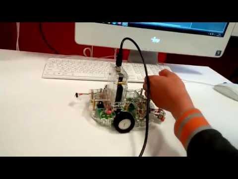 WRO 2014 KAZAN Сборка простого электронного пианино и программирование робота