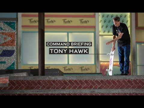 Tony Hawk | Battle Commander: Command Briefing