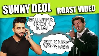 Sunny Deol | Funny Dialouges Punjabi Roast Video | Aman Aujla
