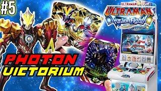 BAKAR DUIT 200 REBU BUAT PHOTON VICTORIUM SAMPE MESINNYA RUSAK - Ultraman Fusion Fight Indonesia #5