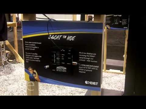 CEDIA 2013: ZEKTOR Shows SoloCAT HD-BaseT Transmitters and Receivers