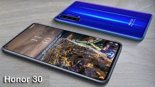 Honor 30 - First Look, Penta Camera, 5G, 8 GB RAM, Specs, CONCEPTS!
