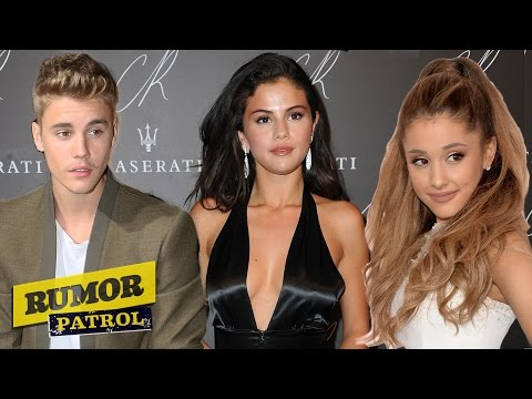 Selena Gomez DUMPS Justin? Ariana