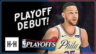 Ben Simmons PLAYOFF DEBUT! Full Game 1 Highlights vs Heat 2018 Playoffs - 17 Pts, 9 Reb, 14 Assists!