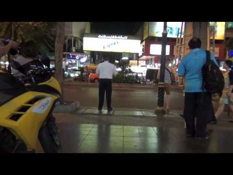 Preaching the gospel to Patpong Road (July 4, 2014)