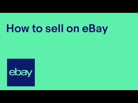 How to sell on eBay - official UK video
