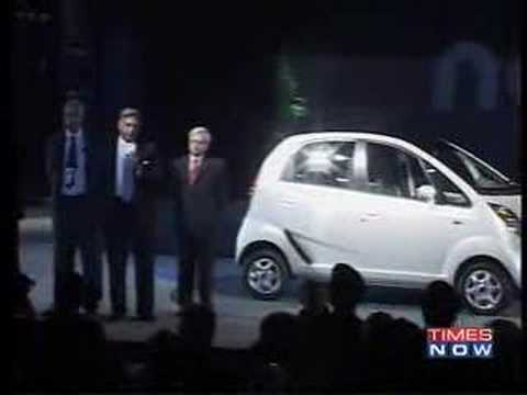 Tata unveils Rs 1 lakh car, called it Nano