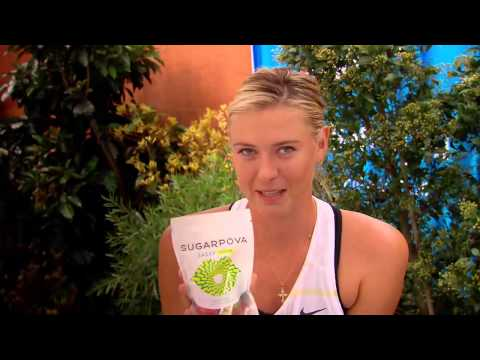 Introducing... Maria Sugarpova! - Australian Open 2013