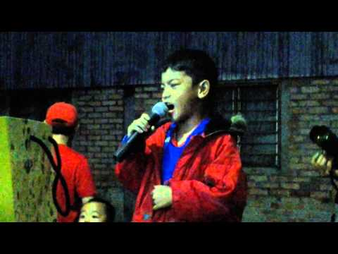 Malay Kid Sing In Dusun Song At Sabah video