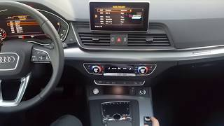 How to use MMI System in Audi Q5