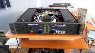 American DJ V2000 amplifier repair
