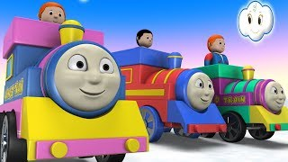 Toy Factory City - Cartoon for Children - Thomas The Train - Trains for Kids - Cartoon Cartoon