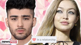 Gigi Hadid CONFIRMS She's Dating Zayn Malik... AGAIN!