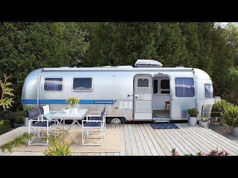 Interior Design  – Stylish Airstream Trailer Makeover