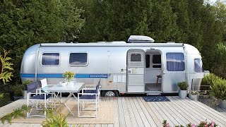 Interior Design  – Stylish Airstream Trailer Makeover