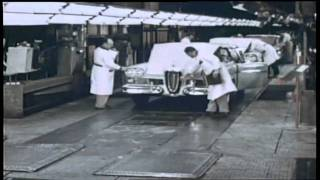FORD - 1958 EDSEL RANGER - Introduction of the Edsel - In the Ford Factory