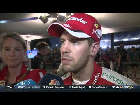 2015 Abu Dhabi - Post-Race: Sebastian Vettel closes the story of this year knowing it wasn't enough