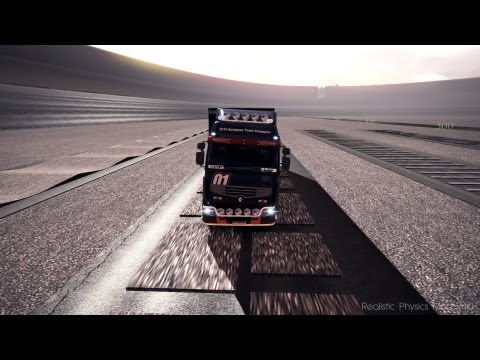 Euro Truck Simulator 2 | Realistic Physics Mod v4.0 | Fixed and Updated! |