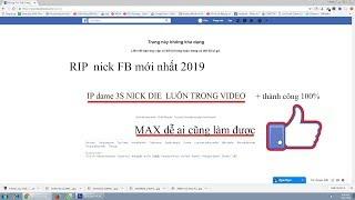 Hướng dẫn RIP nick Facebook người khác  5s mới nhất 2019