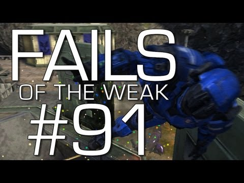 Halo: Reach - Fails of the Weak Volume 91 (Funny Halo Bloopers and Screw-Ups!)