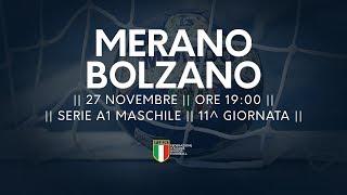 Serie A1M [11^]: Merano - Bolzano 20-32