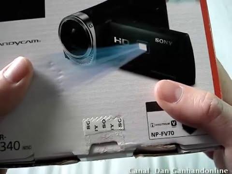 Filmadora Sony HDR-PJ340 Parte 01