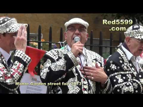 The Manor Garden Fair London 2013 Featuring The Pearly king and queens