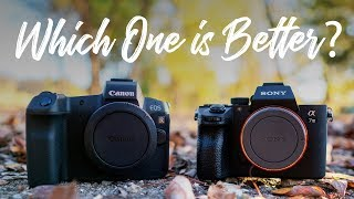 Canon EOS R vs Sony a7III - QUICKEST COMPARISON EVER!!