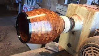Segmented Brick Vase