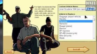Como instalar Coches Reales en GTA San Andreas con SAMI [HD]