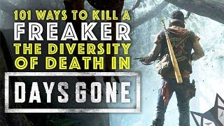 DAYS GONE Weapons and Combat System  - 101 Ways to Kill a Freaker