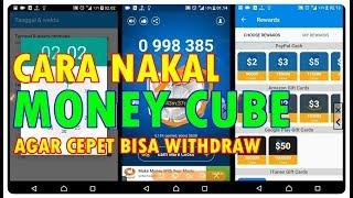CARA NAKAL BIKIN UNLIMITED CLICKS DI MONEY CUBE BOSKUH, LEGIITT!!