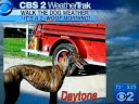 Daytona Makes The Weather Segment CBS 2
