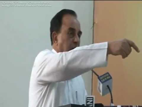 Dr Subramaniun Swamy talks about Indian Media corruption and Cure (हिंदी)