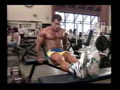 Joe Weider's Bodybuilding Training System Tape 4 - Chest & Triceps Image 1