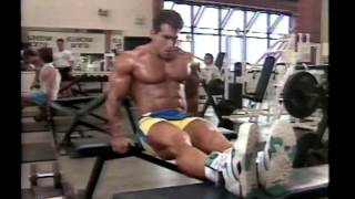 Joe Weider's Bodybuilding Training System Tape 4 - Chest & Triceps
