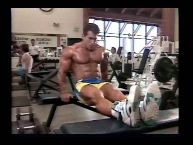 Joe Weider's Bodybuilding Training System Tape 4 - Chest & Triceps