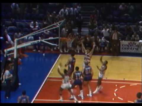 Recopilación histórica de Canastas Sobre la Bocina de la NBA.