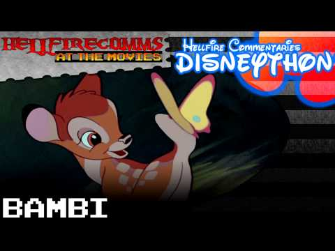 The HellfireComms Disneython - #4: Bambi [Audio commentary]