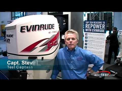 EVINRUDE 150 HO E-TEC Engine Reviews (2 stroke) - By BoatTEST.COM
