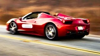 Ferrari Rally! Living the Dream with the 458 Spyder and F12 Berlinetta - The Downshift Ep. 66