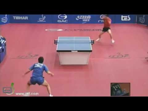 Ma Long vs Bojan Tokic[Slovenia Open 2012]