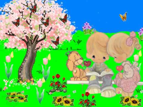Canci n infantil la primavera lleg youtube - Dibujos pared habitacion infantil ...