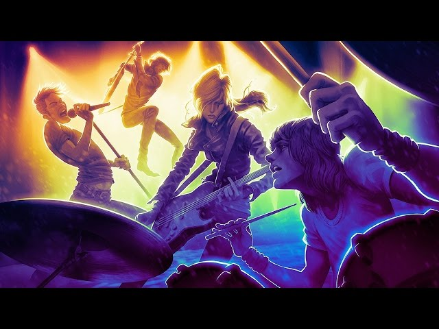 Guitar Hero Live vs. Rock Band 4 - Podcast Unlocked