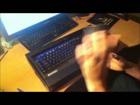Razer Blackwidow: Battlefield 3 Collector's Edition Unboxing & Overview