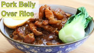 Taiwanese Braised Pork Belly Over Rice | CiCi Li - Asian Home Cooking Recipes