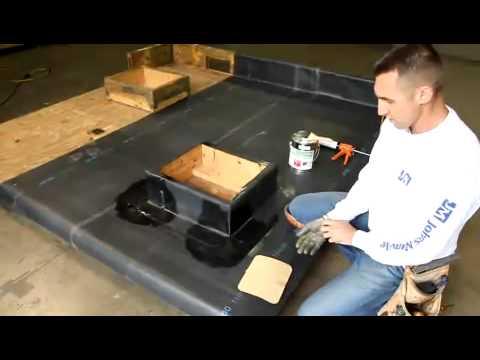 JM EPDM Outside Corner Flashing Installation Video - YouTube