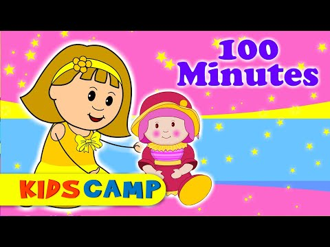 Miss Polly Had A Dolly   Nursery Rhymes   100 Minutes Compilation From Kidscamp video