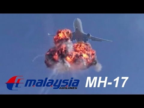 Malaysia MH-17 Missile Shot Down video